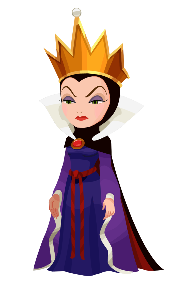 Evil queen clipart crown. Khx render png tatoos