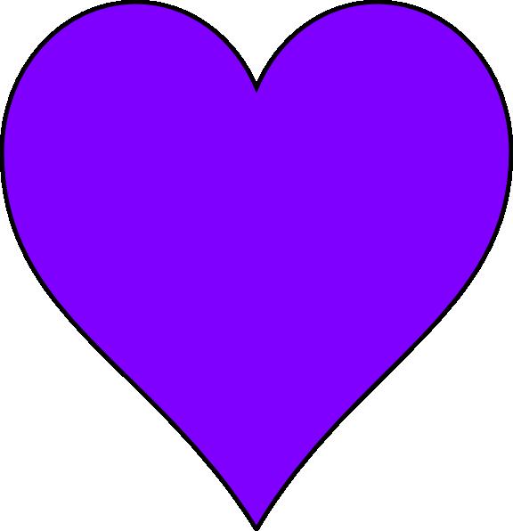 Dark purple heart clipart banner library library Purple Heart Clipart | Clipart Panda - Free Clipart Images banner library library