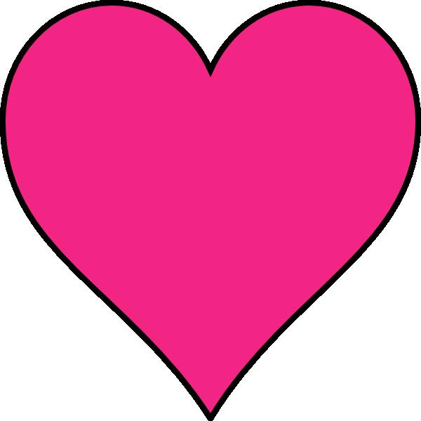 Dark purple heart clipart vector free Dark Pink Heart Clip Art at Clker.com - vector clip art online ... vector free
