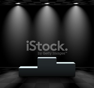Dark room with phone clipart vector free Dark Room With Lightened Pedestal premium clipart - ClipartLogo.com vector free