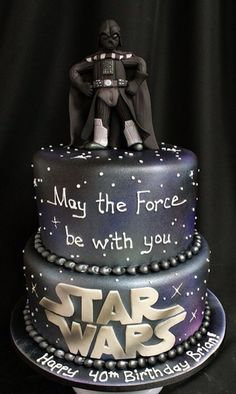 Darth vader using the force on a birthday cake clipart clipart library library 25 Best Darth Vader Cakes images in 2017 | Star wars cake, Cookies ... clipart library library