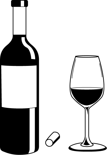 Wine bottle black and white clipart clipart free Free Liquor Glass Cliparts, Download Free Clip Art, Free Clip Art on ... clipart free