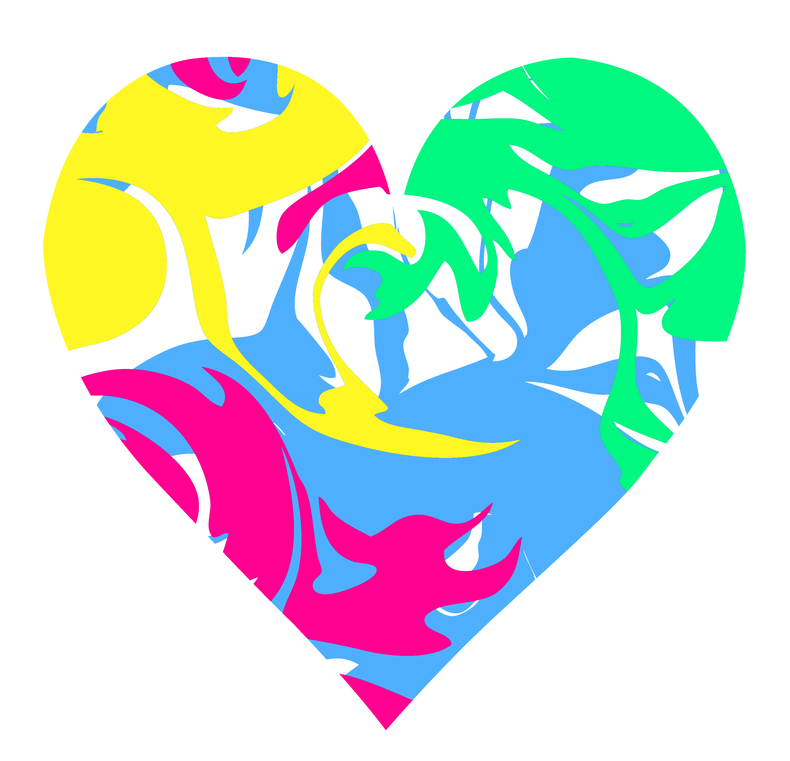 Dashed heart clipart clip library swirl_heart.png (3056×2945) | hearts | Pinterest | Clip art, Pixel ... clip library
