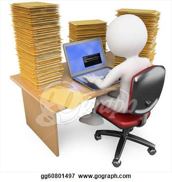 Data entry clerk clipart banner library download Clerk Clip Art   Clipart Panda - Free Clipart Images banner library download
