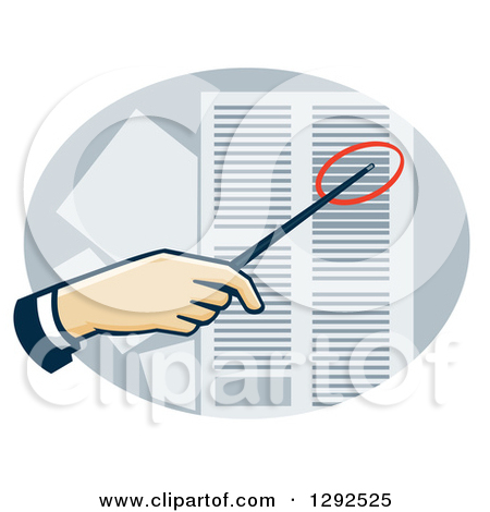 Data sheet clipart jpg freeuse download Clipart of a White Hand Using a Pointer to Direct Attention to a ... jpg freeuse download