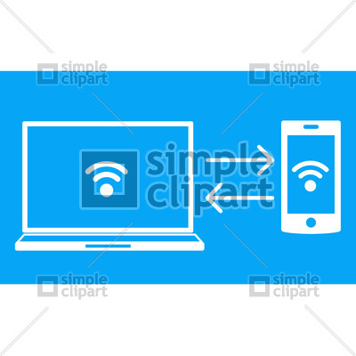 Data transfer clipart svg library Wireless data transfer Vector Image #1697 – SimpleClipart svg library