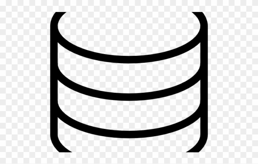 Database icon clipart png black and white library Icons Clipart Database - Svg Database Icon - Png Download (#549532 ... png black and white library