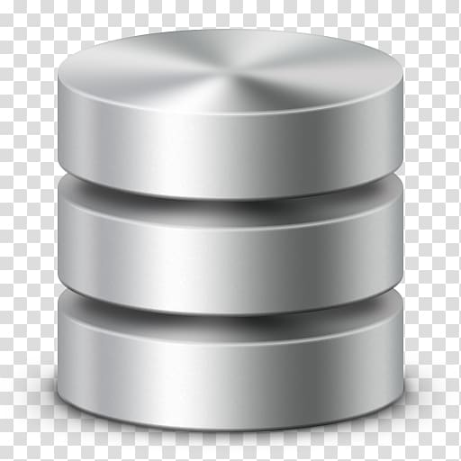 Database icon clipart clipart Cylindrical stainless steel accessory, Database ICO Icon, Database ... clipart