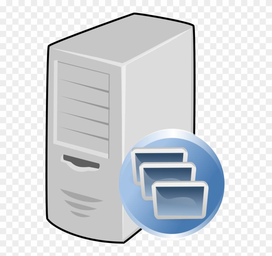 Database server clipart image black and white stock Computer Servers Application Server Computer Icons - Database Server ... image black and white stock