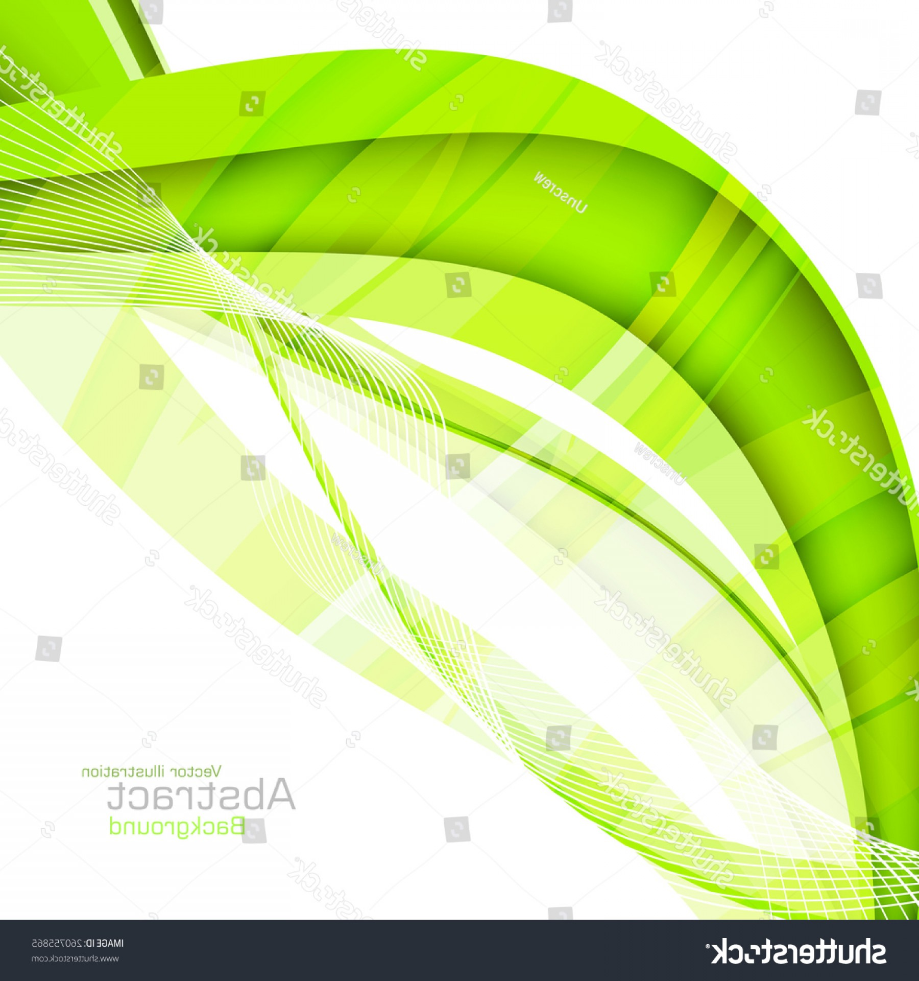 Datastream clipart free Abstract Green Waves Data Stream Concept   SOIDERGI free