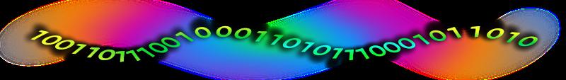 Datastream clipart clip art download Free Clipart: Binary Data Stream 2   rygle clip art download