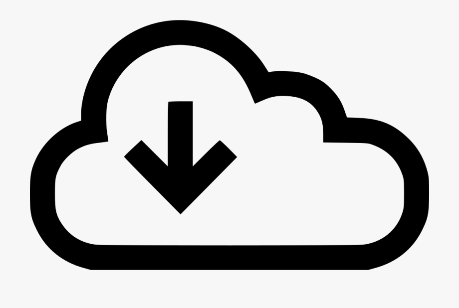 Datastream clipart royalty free Download Arrow Down Cloud Data Stream Storage Svg Png - Internet ... royalty free