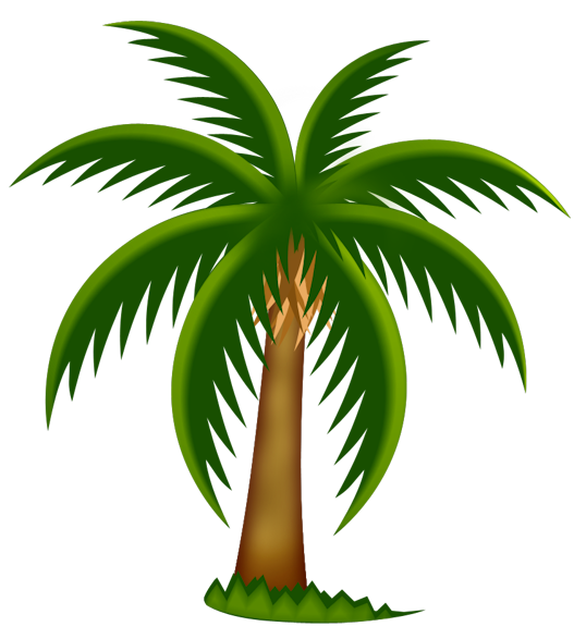 Date palm tree clipart vector freeuse palm-tree-clip-art-283423.png (538×587) | 物件素材 | Pinterest ... vector freeuse