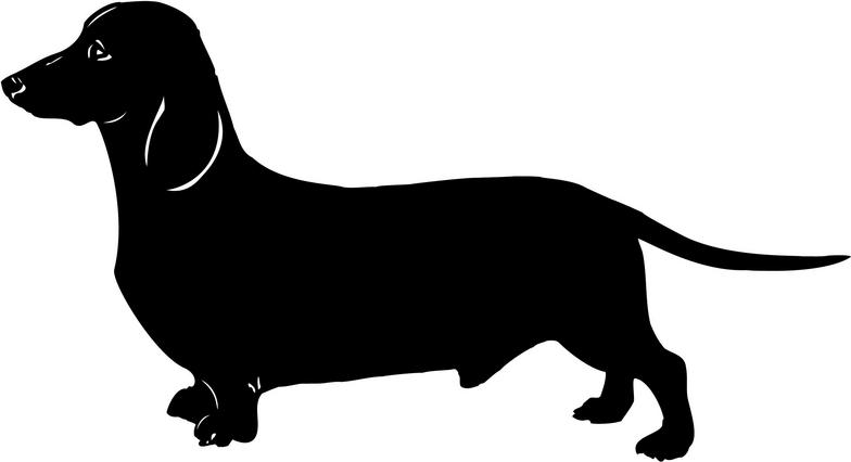 Dauchsund clipart svg library 86+ Dachshund Clipart | ClipartLook svg library