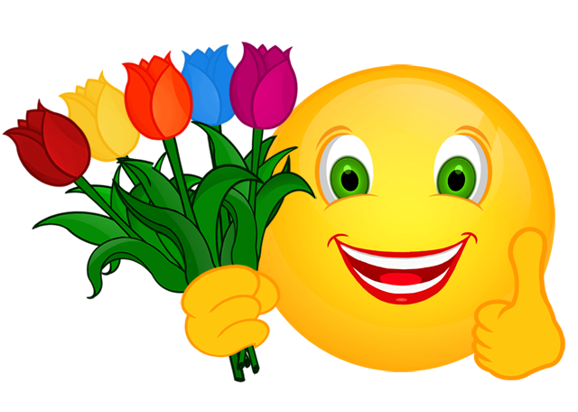 smiley daumen hoch danke