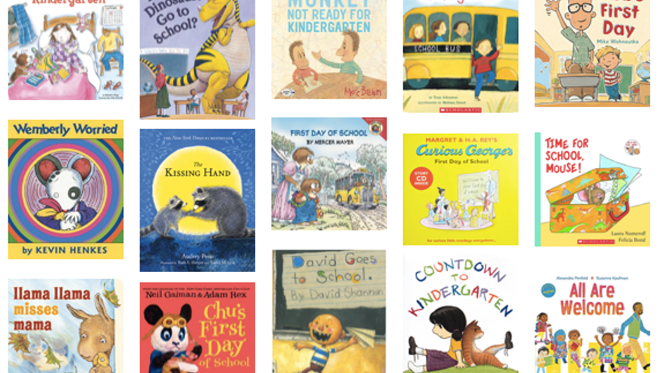 David goes to school and friends clipart picture free library 15 Books To Read The Night Before Kindergarten picture free library