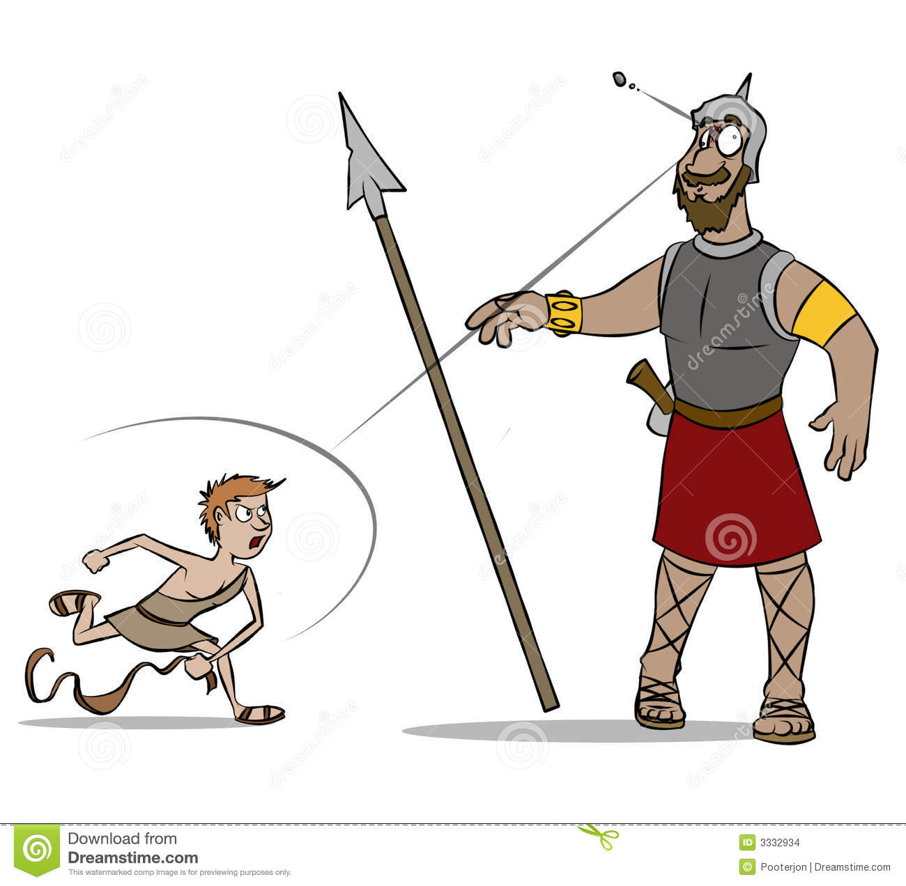David und goliath clipart jpg freeuse library David And Goliath Royalty Free Stock Photos - Image: 13277468 jpg freeuse library