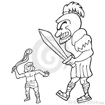 David und goliath clipart vector stock Goliath Stock Illustrations – 155 Goliath Stock Illustrations ... vector stock
