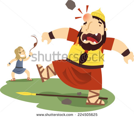 David und goliath clipart graphic transparent library David And Goliath Stock Images, Royalty-Free Images & Vectors ... graphic transparent library