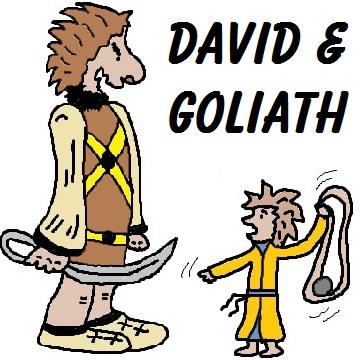 David und goliath clipart banner transparent stock David und goliath clipart - ClipartFest banner transparent stock