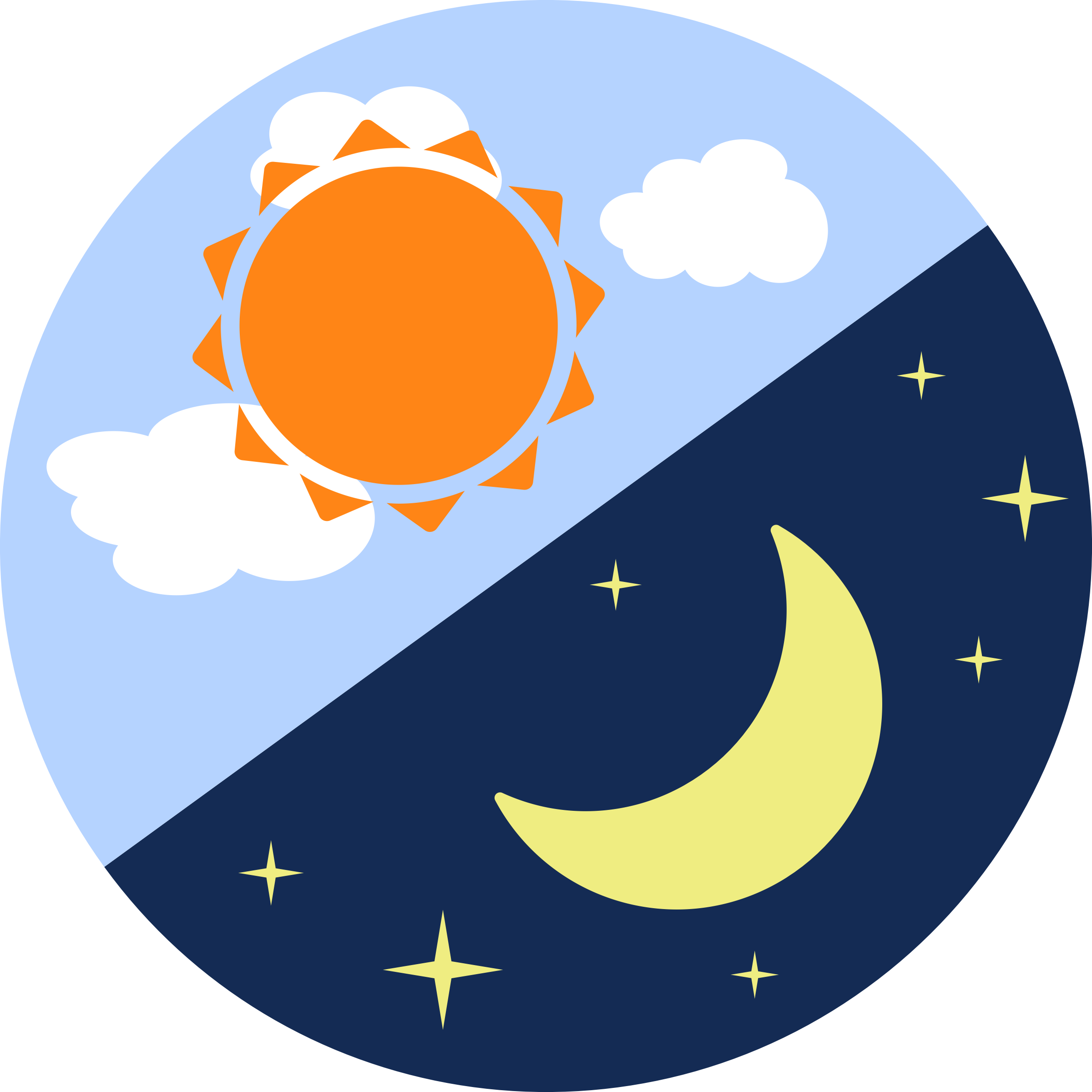 Day and night clipart animated image free Day And Night PNG Transparent Day And Night.PNG Images.   PlusPNG image free