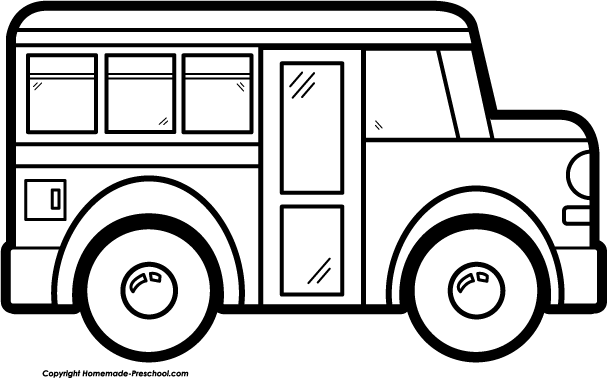 Clipart of a bus black and white clip art free Van Clipart Black And White | Free download best Van Clipart Black ... clip art free
