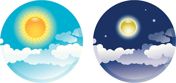 Day night clipart clipart library library Day and night clipart 6 » Clipart Station clipart library library