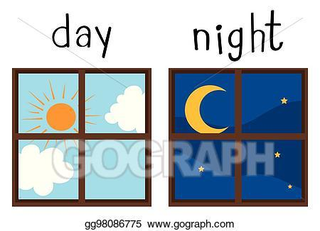 Day night clipart banner free stock Day night clipart 5 » Clipart Portal banner free stock
