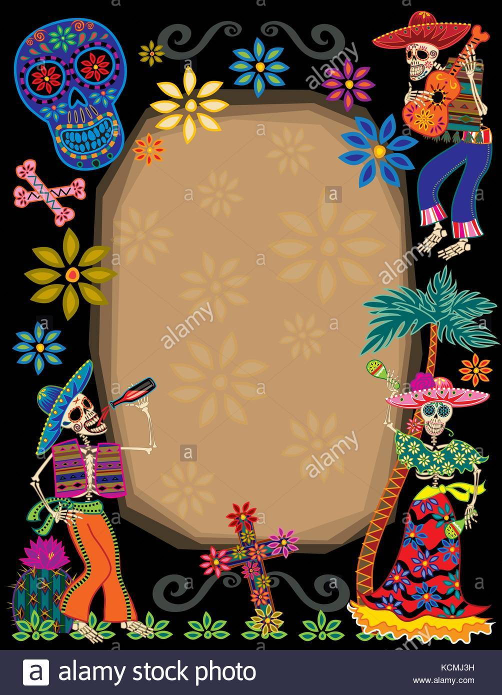 Day of the dead border clipart svg transparent download Day of the dead border clipart 8 » Clipart Portal svg transparent download