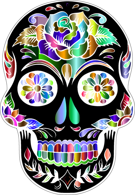 Day of the dead clipart png free stock Day of the dead clip art clipart images gallery for free download ... png free stock