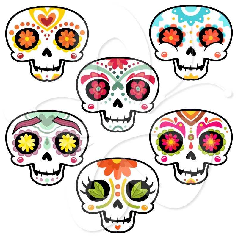 Day of the dead clipart svg transparent library Free Day Of The Dead Clipart, Download Free Clip Art, Free Clip Art ... svg transparent library