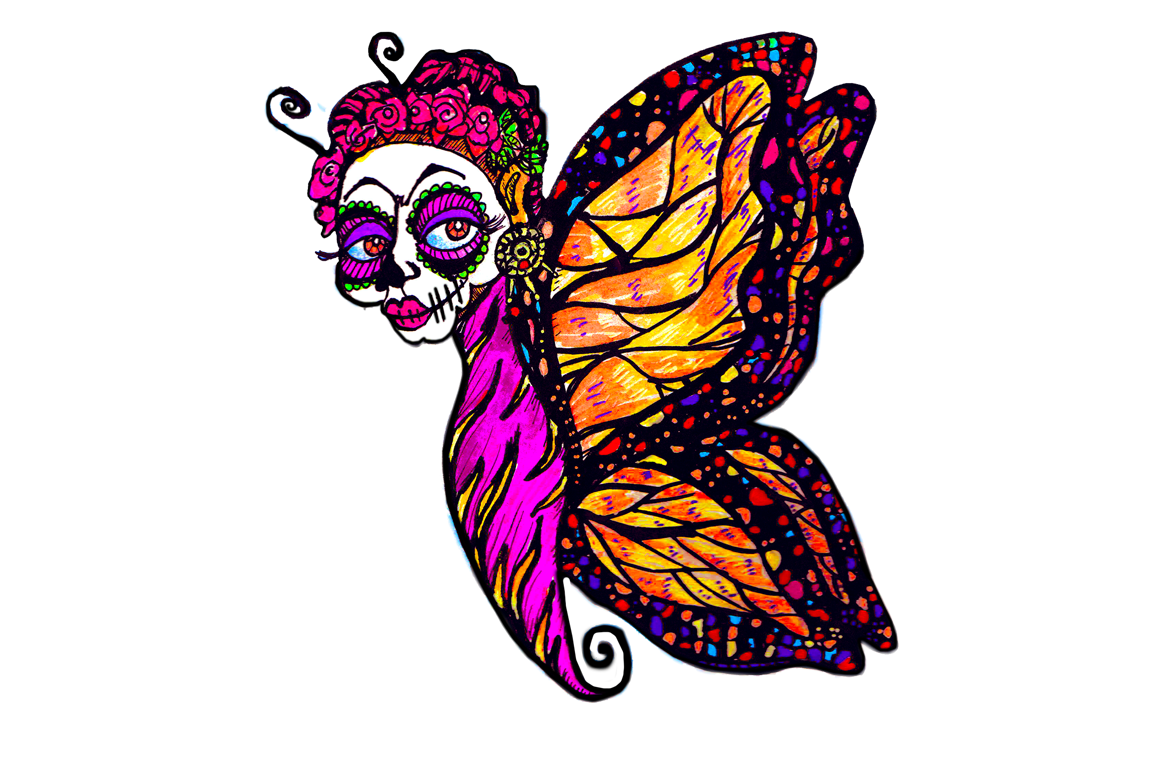 Day of the dead flower clipart jpg download Day Of The Dead Clipart at GetDrawings.com | Free for personal use ... jpg download
