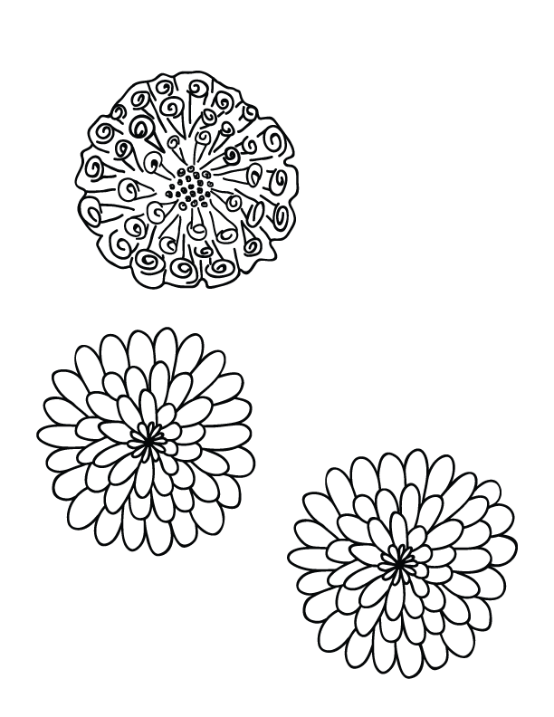 Day of the dead flower clipart picture transparent library 28+ Collection of Day Of The Dead Marigolds Drawing | High quality ... picture transparent library