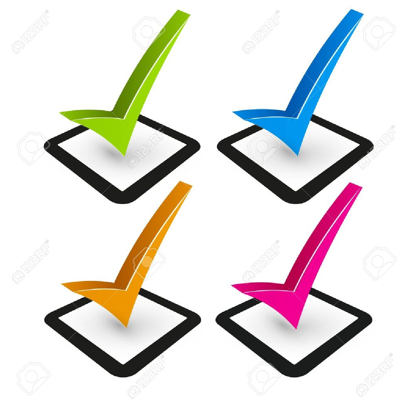 Day of the week check boxes clipart picture transparent library Vote Check Mark   Free download best Vote Check Mark on ClipArtMag.com picture transparent library