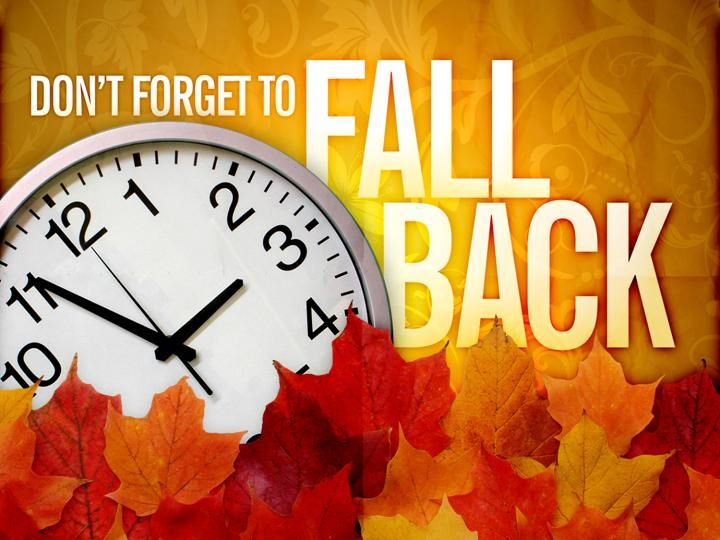 Daylight savings time fall back clipart image transparent Fall Back Time Change Clip Art | Its that time of year again ... image transparent