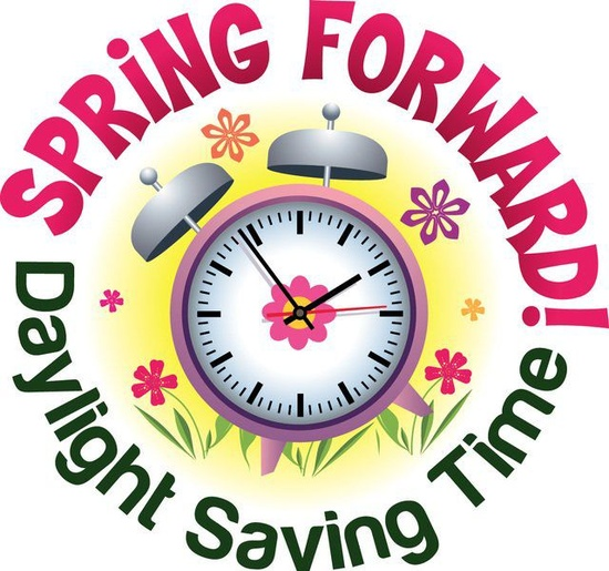 Daylight savings time begins clipart vector library Spring Forward: Daylight Saving Time Begins | Coronado Unified ... vector library