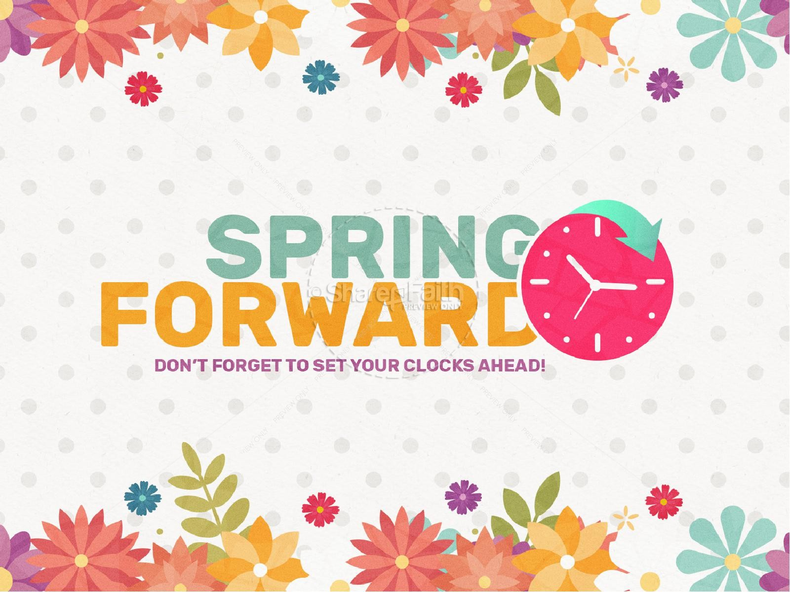 Daylight savings time clipart spring forward freeuse download Daylight Saving Time Spring Forward Goodbye Video | Church Motion ... freeuse download
