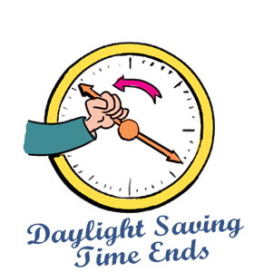 Turn clocks ahead 2016 clipart vector freeuse download Practice schedule updates (Halloween, end of Daylight Saving Time ... vector freeuse download