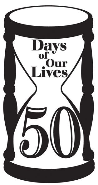 Days of our lives clipart banner black and white library Today, Aug 8th, we celebrate our own Days of Our Lives 50th Annivers ... banner black and white library