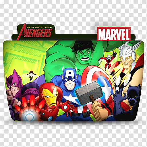 Dc and marvel clipart banner royalty free stock TV Folder Icons DC and Marvel ColorFlow Set , Avengers Earth\'s ... banner royalty free stock