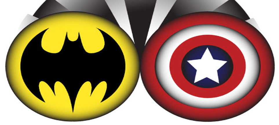 Dc and marvel clipart png transparent library The Great Debate: DC vs. Marvel – The Marlin Chronicle png transparent library