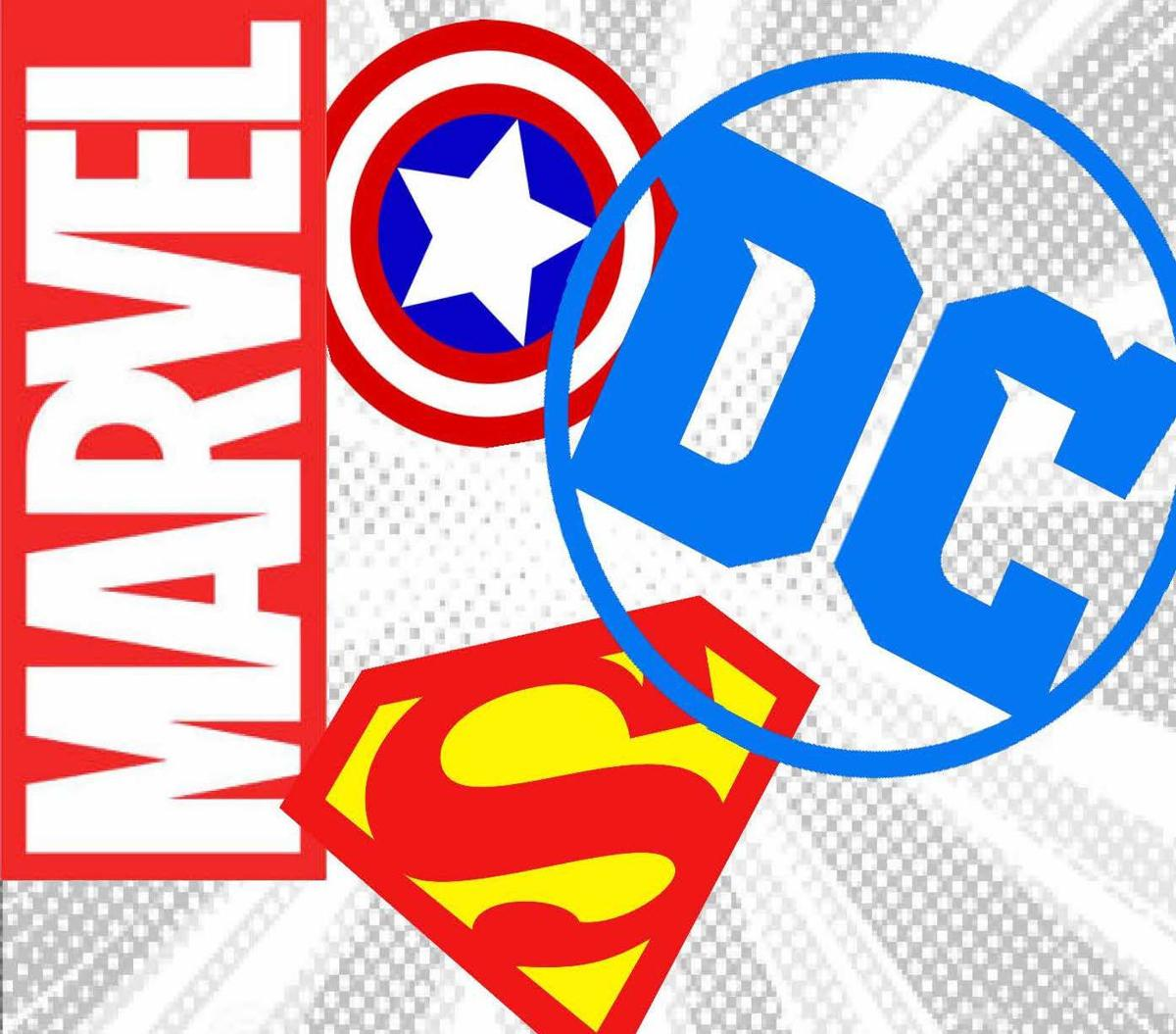 Dc and marvel clipart graphic transparent library Battle of the Comics: DC versus Marvel | Opinion | easternprogress.com graphic transparent library