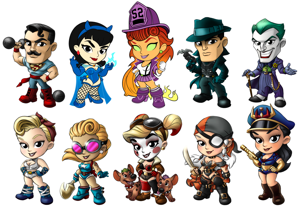 Dc baseball style clipart picture transparent download Toy Focus: Cryptozoic DC Lil Bombshells: Series 3 picture transparent download