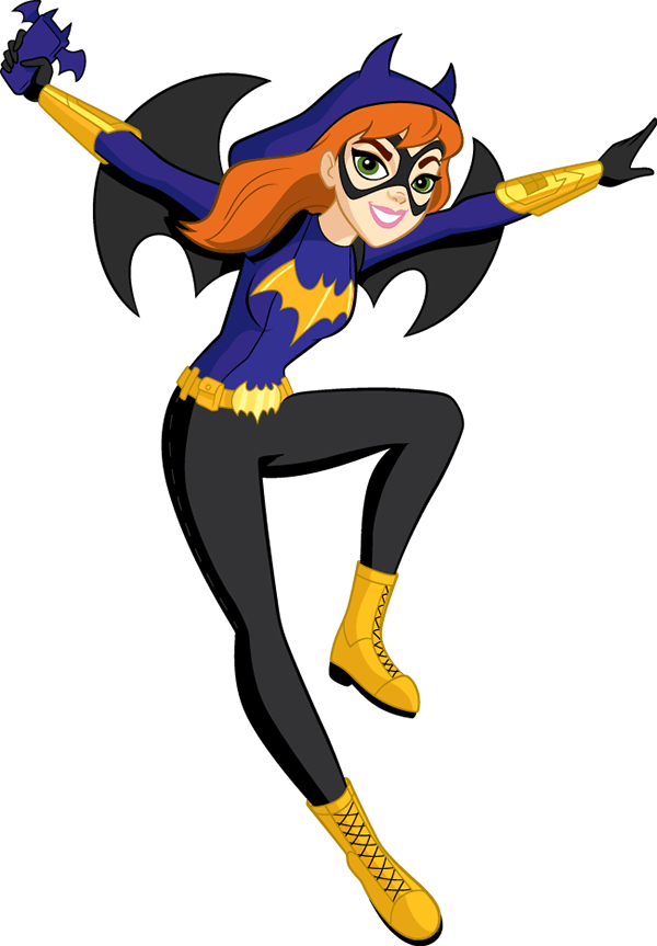 Superhero star clipart banner black and white download Batgirl | Pinterest | Super hero high, Barbara gordon and Super powers banner black and white download