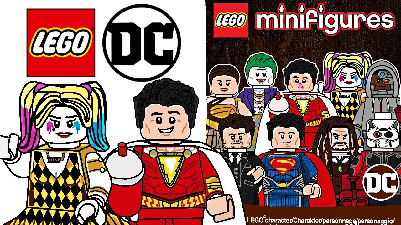 Dc extended universe clipart clipart freeuse stock LEGO DC Extended Universe Minifigures - CMF Draft! clipart freeuse stock