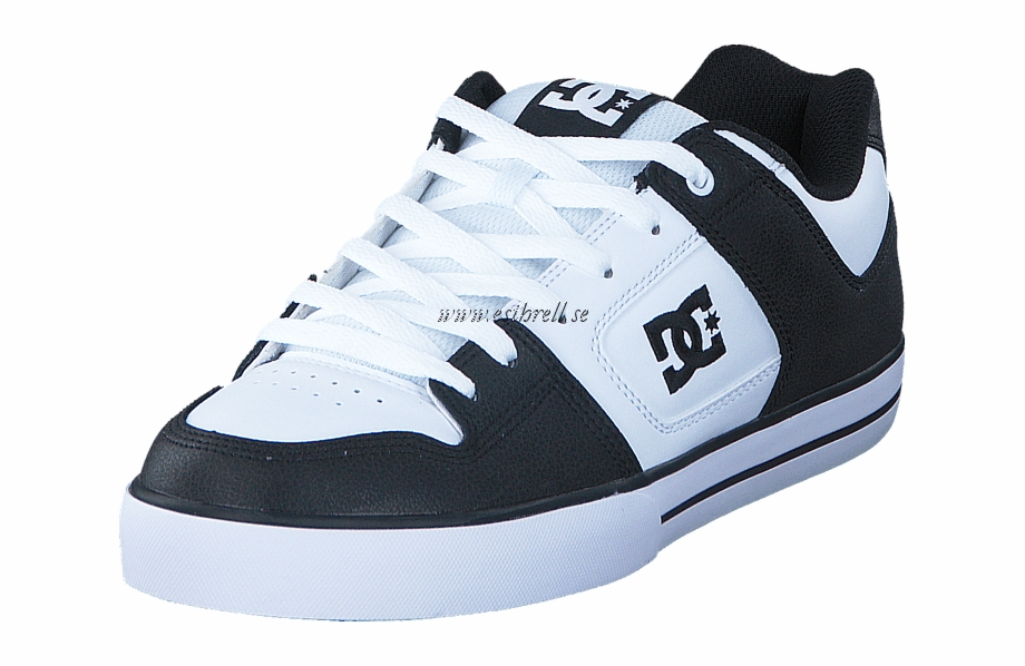 Dcnshoes clipart image free library Dc Shoes Pure Black/white/black Herr Sneakers & Sportskor - Dc Shoes ... image free library