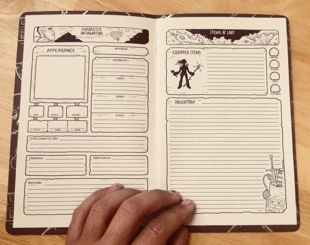 D&d character journal clipart vector library download Luke Howard on   Fantasy   Character sheet, Dnd character sheet, Rpg ... vector library download