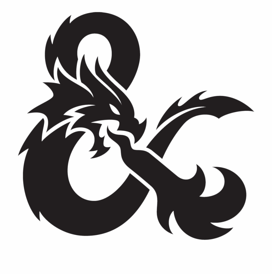 D&d logo clipart picture black and white Dungeon And Dragons Logo Free PNG Images & Clipart Download #5044218 ... picture black and white