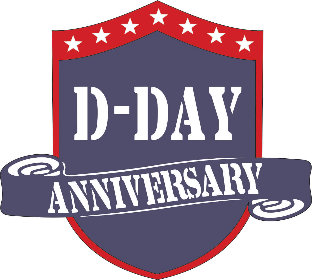 Dday clipart vector royalty free D-Day Anniversary vector royalty free