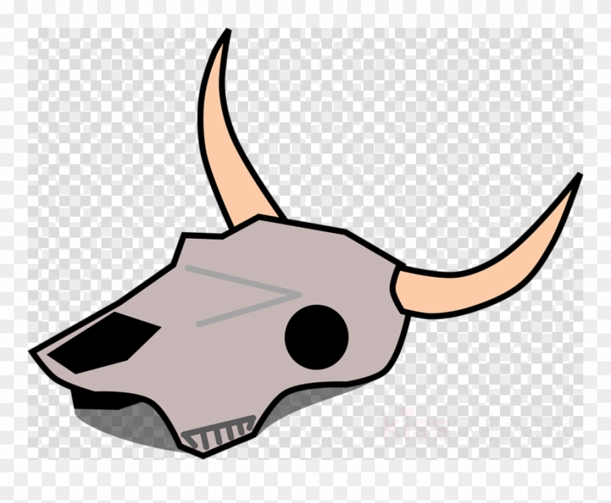 Dead animal clipart clip freeuse stock Cartoon Desert Skull Png Clipart Texas Longhorn English - Dead ... clip freeuse stock